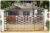 Dull Stainless Gate